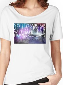 Forever Quote - The Fault in Our Stars Women's Relaxed Fit T-Shirt