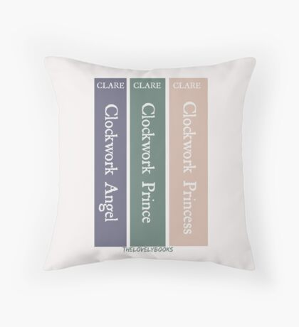 The Infernal Devices by Cassandra Clare Throw Pillow