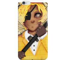 Human Bill Cipher-Gravity Falls iPhone Case/Skin