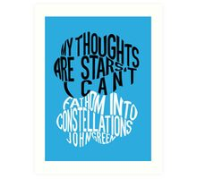 TFIOS - Constellations Art Print