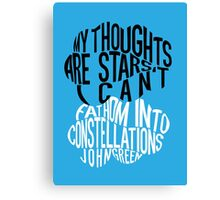 TFIOS - Constellations Canvas Print