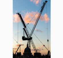 Cranes Over St Paul's Cathedral, London Unisex T-Shirt