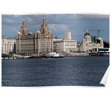 The Royal Daffodil crossing the River Mersey Poster