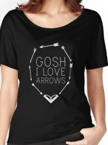 Gosh I Love Arrows Women's Relaxed Fit T-Shirt