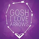 Gosh I Love Arrows by KitsuneDesigns
