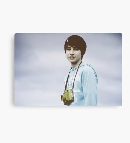 My bro is cool Canvas Print