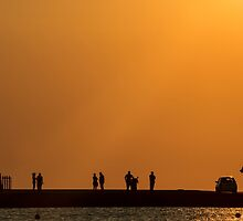 Kamares sunset by Ian Mac
