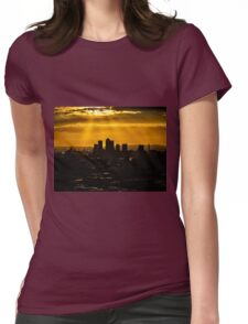 Canary Wharf Womens Fitted T-Shirt
