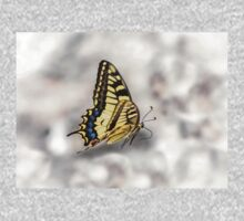 Beautiful Swallowtail Butterfly In Flight One Piece - Long Sleeve
