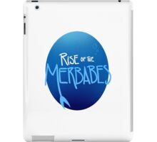'Rise of the Merbabes' cover iPad Case/Skin
