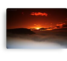 The Silence of Dawn Canvas Print