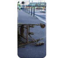 Trolley on the sidewalk iPhone Case/Skin