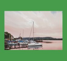 Lake Windermere at Sunset Baby Tee
