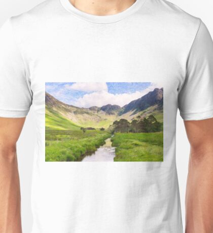 Warnscale Beck, Buttermere Unisex T-Shirt