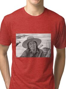 Thai Old Woman Tri-blend T-Shirt
