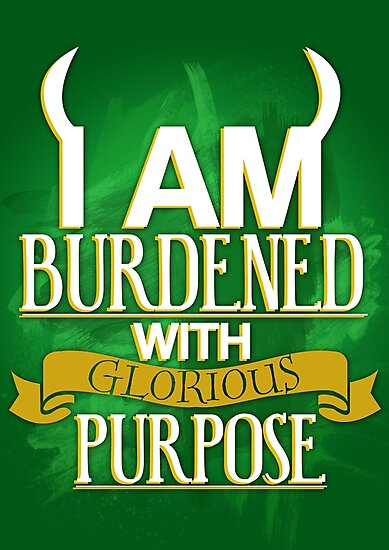Burdened with Glorious Purpose by KitsuneDesigns
