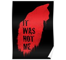 It Was Not Me Poster
