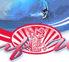 hobo reds surf wax Sticker