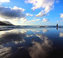 Hanalei Reflection by Michaela Byrd