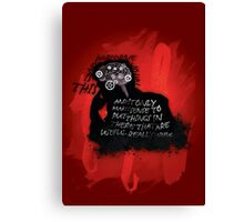 Hard-drive Canvas Print