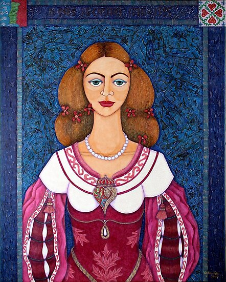 Ines de Castro - The love crowned by Madalena Lobao-Tello