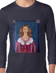 Ines de Castro - The love crowned Long Sleeve T-Shirt