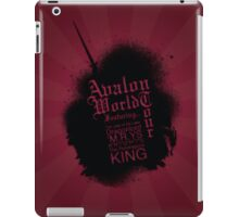 Avalon Poster 1 iPad Case/Skin