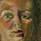 Portrait of a Woman in the Dark by Stacie Baldwin