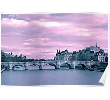 Parisian Mosaic - Piece 9 - The Pont Neuf Poster