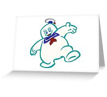 Stay Puft: Livin' Large Greeting Card