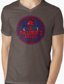 Red Demon dojo Mens V-Neck T-Shirt