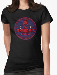 Red Demon dojo Womens Fitted T-Shirt