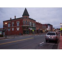 Downtown Yarmouth, Nova Scotia Photographic Print