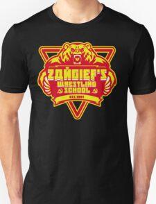 the russian bear wrestling school Unisex T-Shirt
