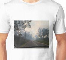 Bushfire, Boco Siding, Tasmania, Australia (3) Unisex T-Shirt