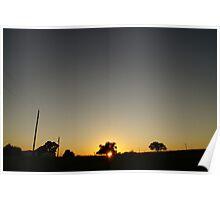 The big gray sky Poster