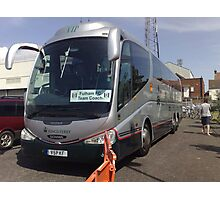 Nokia Collection - Fulham FC Team Coach Photographic Print
