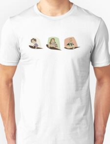 Lebowski Conversation Triptych T-Shirt