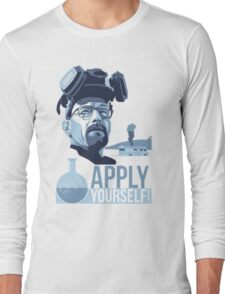Breaking bad Apply Yourself Long Sleeve T-Shirt