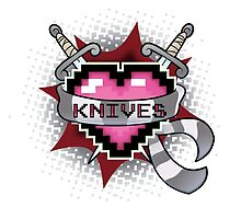 Heart Crest - Knives  by mutantninja