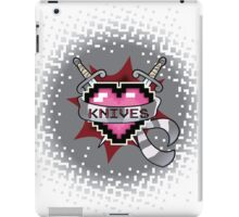 Heart Crest - Knives  iPad Case/Skin