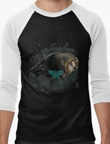 A Hylian and a Wolf Men's Baseball ¾ T-Shirt