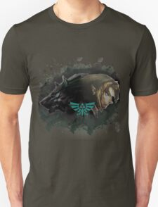 A Hylian and a Wolf Unisex T-Shirt