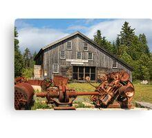 Royal Oak Stamp Mill, Sherbrooke Canvas Print