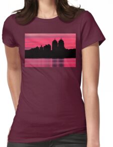 Silhouette city Womens Fitted T-Shirt