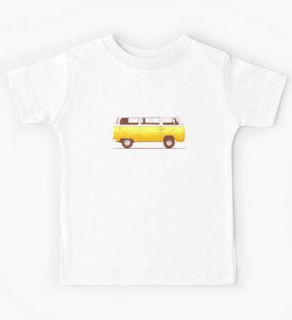 Yellow Van Kids Tee