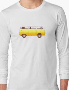 Yellow Van Long Sleeve T-Shirt