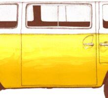 Yellow Van Sticker