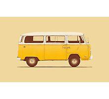 Yellow Van Photographic Print