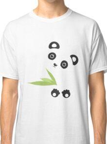 Cute Cartoon Kawaii Panda Classic T-Shirt